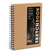 Sketchbook (Basic Medium Spiral Kraft) by Unknown, 9781454931492