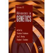 Advances in Genetics by Friedmann, Theodore; Dunlap, Jay C.; Goodwin, Stephen F., 9780128001493