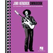 Jimi Hendrix Omnibook by Hendrix, Jimi (CRT), 9781480341494