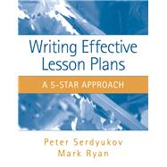 Writing Effective Lesson Plans The 5-Star Approach