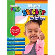 Preschool Fun - Math Sticker Activities by Popular Book Company, 9781771491495
