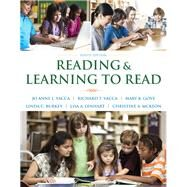 Reading and Learning to Read, Enhanced Pearson eText with Loose-Leaf Version -- Access Card Package by Vacca, Jo Anne L.; Vacca, Richard T.; Gove, Mary K.; Burkey, Linda C.; Lenhart, Lisa A.; McKeon, Christine A., 9780133831498