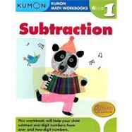 Grade 1 Subtraction : Kumon Math Workbooks by Tachimoto, Michiko, 9781933241500
