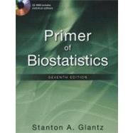 Primer of Biostatistics, Seventh Edition by Glantz, Stanton, 9780071781503