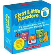 First Little Readers Parent Pack: Guided Reading Level B 25 Irresistible Books That Are Just the Right Level for Beginning Readers by Charlesworth, Liza, 9780545231503