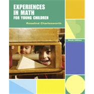 Experiences in Math for Young Children by Charlesworth, Rosalind, 9781111301507