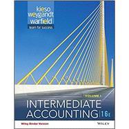 Intermediate Accounting, Volume 1 by Kieso, Donald E.; Weygandt, Jerry J.; Warfield, Terry D., 9781119181507