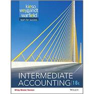 Intermediate Accounting, Sixteenth Edition Volume2 Binder Ready Version by Kieso, 9781119181514
