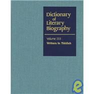 Dictionary of Literary Biography by Sherman, Joseph, 9780787681517