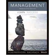 Management by Schermerhorn, John R., jr.; Bachrach, Daniel G., 9781118841518