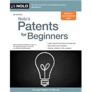 Nolo's Patents for Beginners by Pressman, David; Stim, Richard, 9781413321524