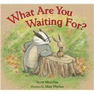 What Are You Waiting For? by Menchin, Scott; Phelan, Matt, 9781626721524