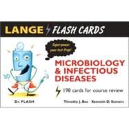 Lange Flash Cards Microbiology and Infectious Diseases by Bos, Timothy J., 9780071451529