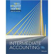 Intermediate Accounting 16e + WileyPLUS Registration Card by Kieso, 9781119231530