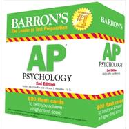 Barron's AP Psychology by McEntarffer, Robert; Weseley, Allyson J., 9781438001531