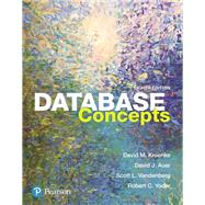 Database Concepts by Kroenke, David M.; Auer, David J.; Vandenberg, Scott L.; Yoder, Robert C., 9780134601533