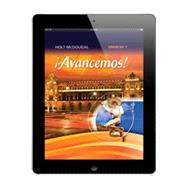 Avancemos! 2010 Online Student Ed. 1-Year Level 1 by HMH, 9780547901534