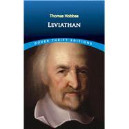 Leviathan by Hobbes, Thomas, 9780486821535