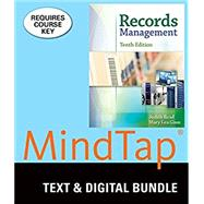 Bundle: Records Management, 10th + Records Management Simulation by Read Judy, 9781305611535