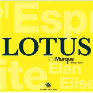 Lotus the Marque by Taylor, William, 9781902351537