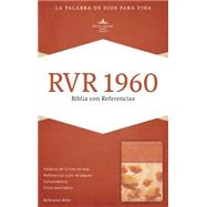 RVR 1960 Biblia con Referencias, damasco/coral símil piel by Unknown, 9781433691539