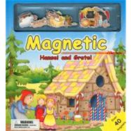 Magnetic Hansel And Gretel [With Over 40 Magnets] by Brook, Carrie, 9780754821540