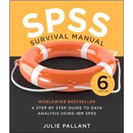 Spss Survival Manual by Pallant, Julie, 9780335261543