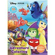 Disney Pixar Adventure Coloring by Parragon Books Ltd, 9781474821544