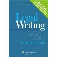 Legal Writing: Process, Analysis, and Organization by Edwards, Linda H., 9781454841548