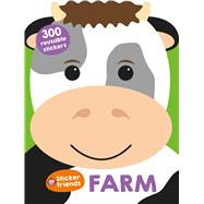 Sticker Friends: Farm by Priddy, Roger, 9780312521554