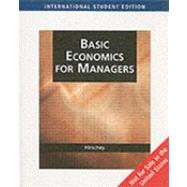 Aise-Basic Economics For Managers by Hirschey, 9780324311556