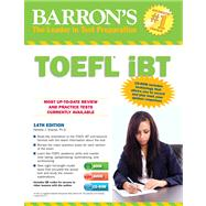 Barron's TOEFL IBT, 14th Edition by Sharpe, Pamela, Ph.d, 9781438001562