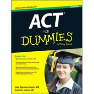 Act for Dummies by Hatch, Lisa Zimmer; Hatch, Scott, 9781118911563