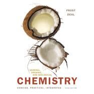 General, Organic, and Biological Chemistry Plus MasteringChemistry with Pearson eText -- Access Card Package by Frost, Laura D.; Deal, S. Todd, 9780134041568