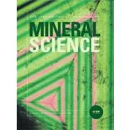 Manual of Mineral Science, 23rd Edition by Cornelis Klein (The Univ. of New Mexico); Barbara Dutrow (Louisiana State University ), 9780471721574