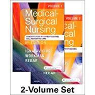 Medical-Surgical Nursing: Concepts for Interprofessional Collaborative Care, 2-Volume Set by Ignatavicius, Donna D., R.N.; Workman, M. Linda, Ph.D, R.N.; Rebar, Cherie Ph.D., R.N.; Heimgartner, Nicole M., R.N., 9780323461580
