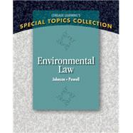 Environmental Law by Johnson, Lisa; Powell, Frona, 9781133961581