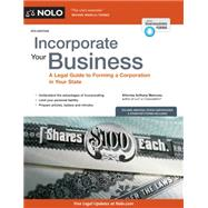 Incorporate Your Business by Mancuso, Anthony, 9781413321586