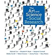 The Art and Science of Social Research by Carr, Deborah; Boyle, Elizabeth Heger; Cornwell, Benjamin; Correll, Shelley; Crosnoe, Robert, 9780393911589