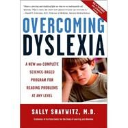 Overcoming Dyslexia by SHAYWITZ, SALLY MD, 9780679781592