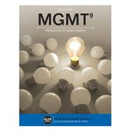 MGMT 9 with Online 1 term (6 months) Printed Access Card by Williams, 9781305661592