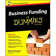 Business Funding for Dummies by Panzarino, Helene, 9781119111597