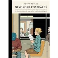 New York Postcards 30 Illustrations from the Pages of The New Yorker and Beyond by Tomine, Adrian, 9781770461598