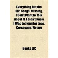 Everything but the Girl Songs by , 9781158511600