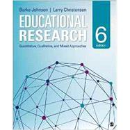 Educational Research by Johnson, R. Burke; Christensen, Larry, 9781483391601