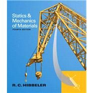 Statics and Mechanics of Materials by Hibbeler, Russell C., 9780133451603