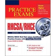 RHCSA/RHCE Red Hat Linux Certification Practice Exams with Virtual Machines (Exams EX200 & EX300) by Jang, Michael, 9780071801607