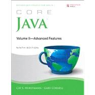 Core Java, Volume II--Advanced Features by Horstmann, Cay S.; Cornell, Gary, 9780137081608