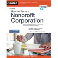 How to Form a Nonprofit Corporation by Mancuso, Anthony, 9781413321609