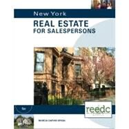New York Real Estate for Salepersons, Special Education: for the Real Estate Education Center by Spada,Marcia Darvin, 9781133111610